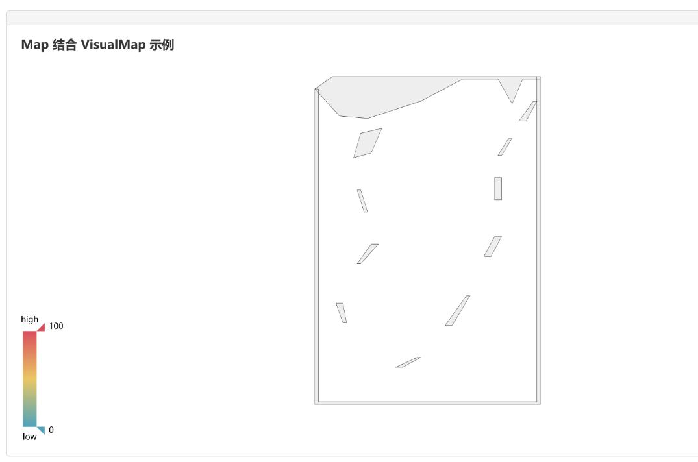 echarts只显示南海诸岛截图